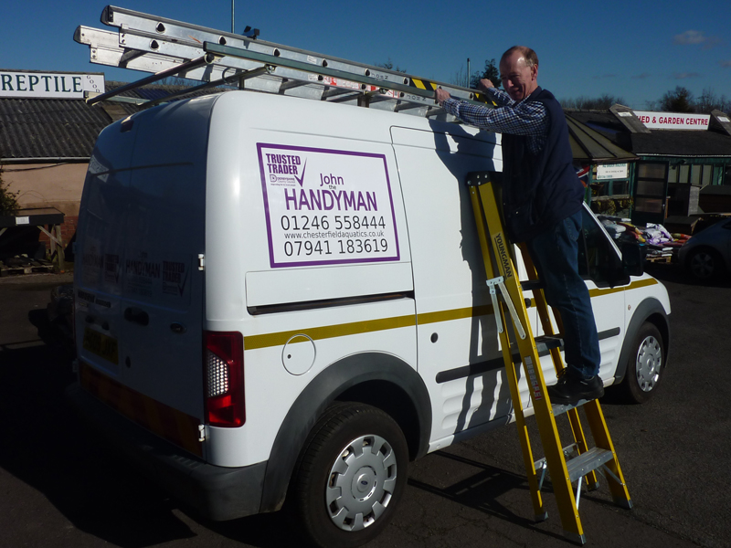 John the Handyman with van